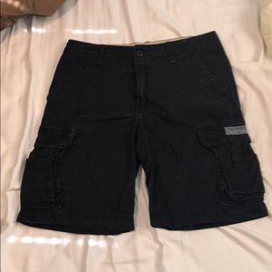 Other - Unionbay black cargo shorts size 34